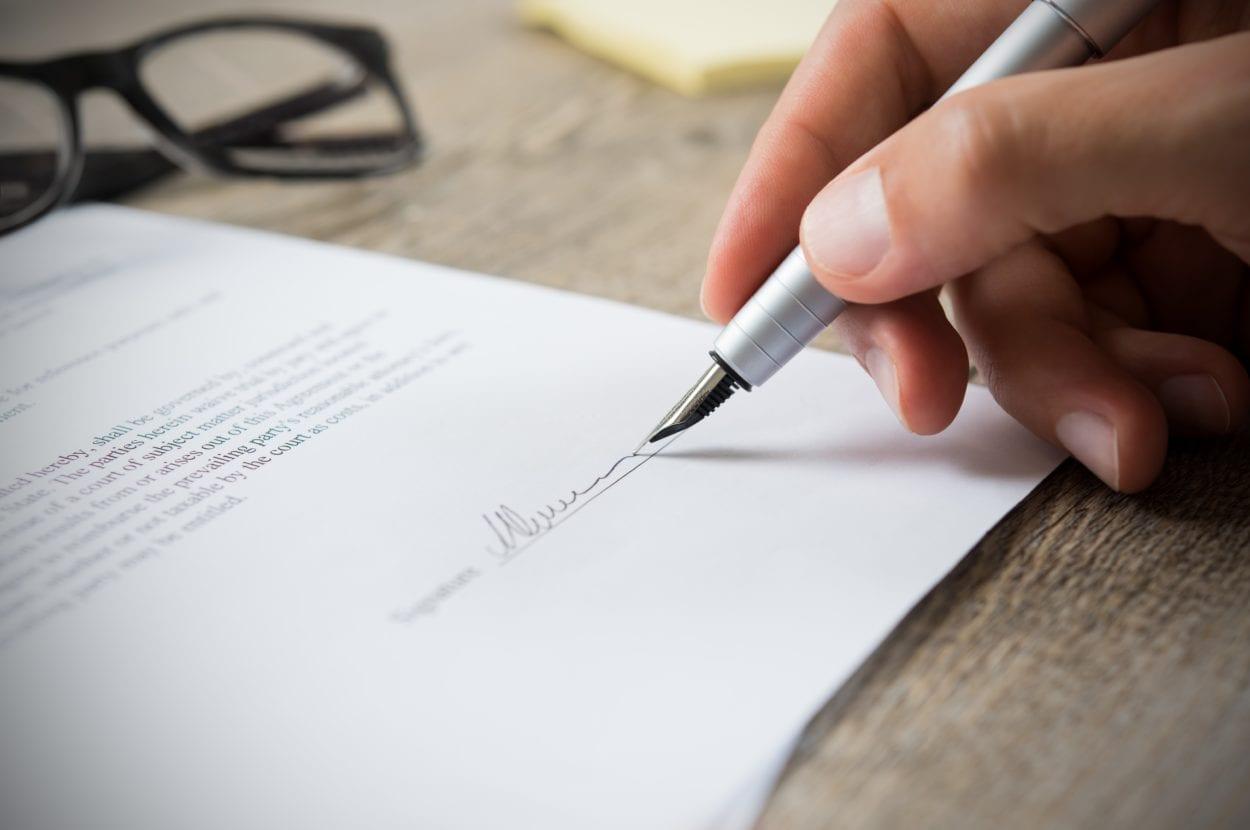 signature un avocat divorce consentement mutuel